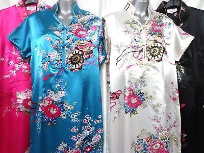 FULL LENGTH ORIENTAL DRESS  Chinese Japanese Kimono - Oriental Chinese Kostüm