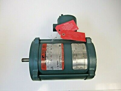 Reliance Electric P56n4071m-bk Enclosed Ac Motor 3 Phase 230 Or 460 13 Hp