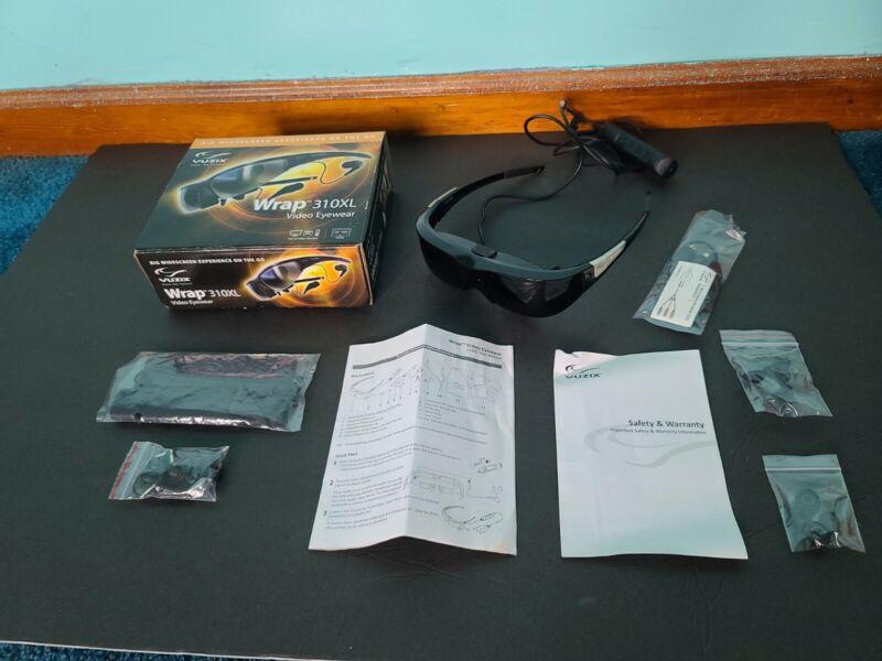 Vuzix Wrap 310XL Widescreen Video Eyewear Glasses 310 XL
