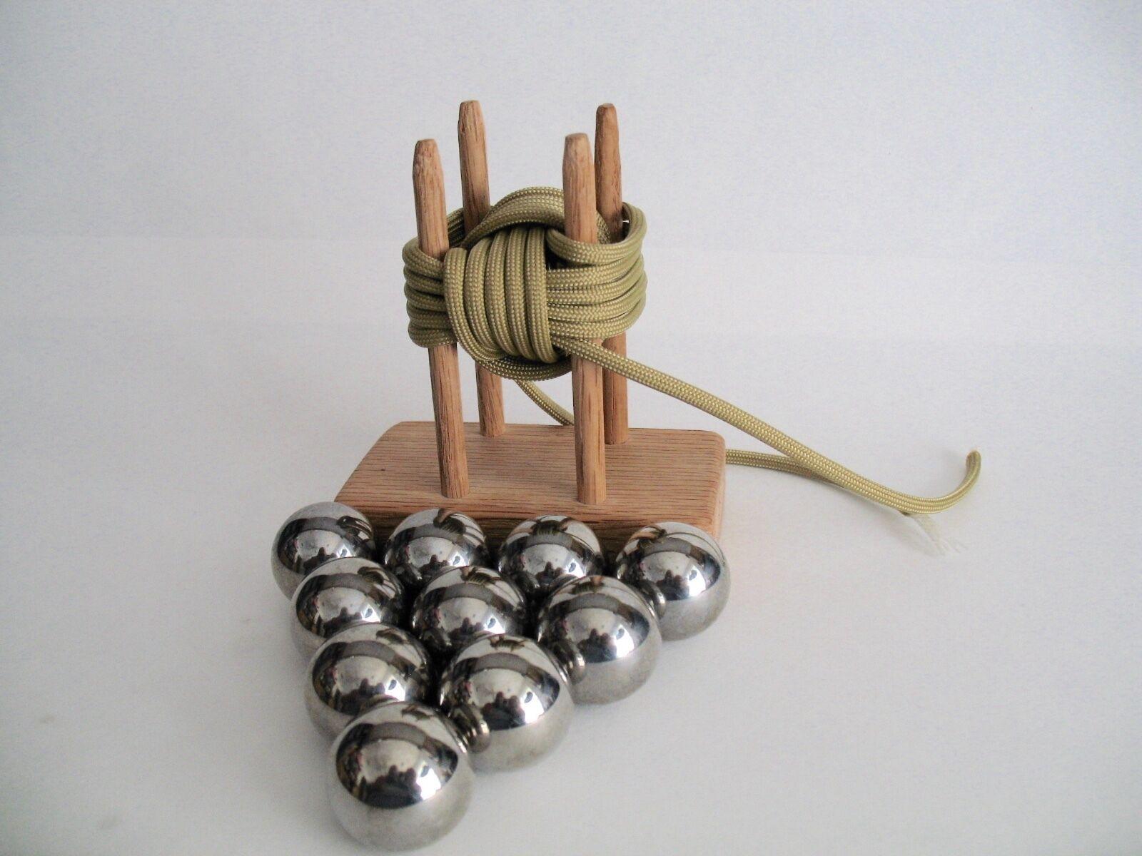 "1"" Monkey Fist Jig  Speed pack with 10 balls ~Veteran Made"