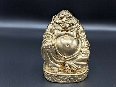 Star Wars: - Jabba the Hutt Buddha Statue - Large - in Gold