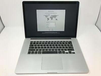 """GOOD Apple MacBook Pro 15"""" 2015 (2.5GHz i7, 16GB, 512GB SSD) MJLT2LL/A"""