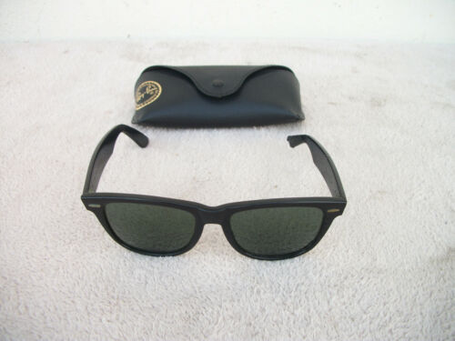 Vintage Ray-Ban Wayfarer Bausch & Lomb Sunglasses with Case ( PARTS )