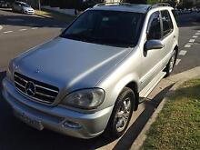 2001 Mercedes-Benz ML Wagon Coogee Eastern Suburbs Preview
