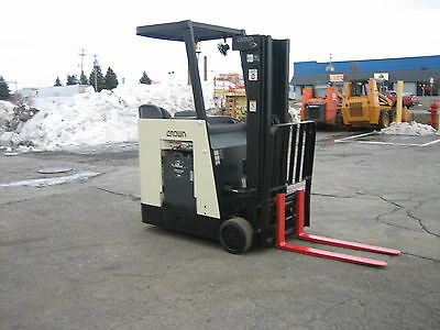 2006 Crown Dockstocker Forklift 2011 Battery 3000 190 Liftside Shift Wchgr.