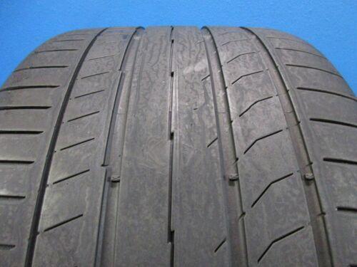 One Used Continental ContisportContact 5P MO  285 30ZR 19  5-6/32 Tread  E1263