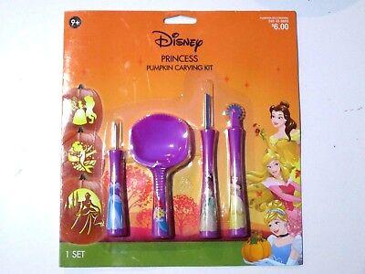NEW - Disney Princess -- Pumpkin Carving Kit & Tools  ( age 9+ )](Princess Pumpkin Carving)
