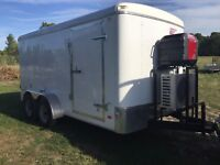 Cooler trailer rental