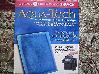 New Aqua Tech Ez Change Filter Cartridge  3  3 Pack