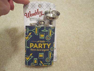 Колбы Wembley 4 oz flask stainless