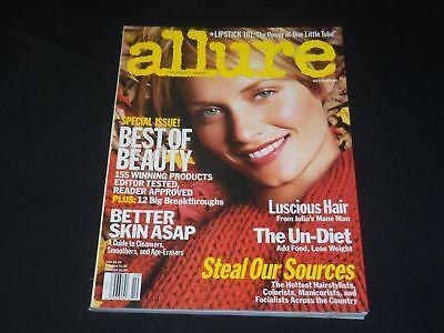 2001 October Allure Magazine   Amber Valletta   Fashion Cover   O 8185