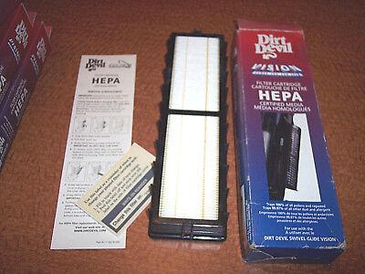 Dirt Devil Vison Filter Hepa Filter Vacuum Cleaner Filter Cartridge Allergens  Dirt Devil Hepa Filter Cartridge