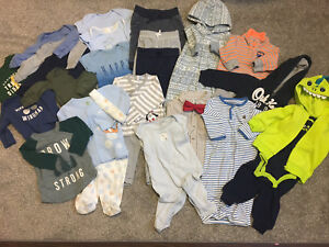 0-3 Month Baby Boy Lot