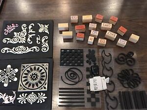Large Set of Stamps