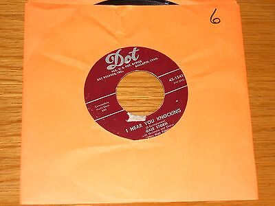 Rock   Roll Group 45 Rpm   Gale Storm   Dot 15412    I Hear You Knocking