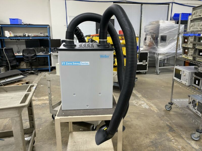 Weller MG100S FT Zero Smog Series Fume Extractor Filtration System