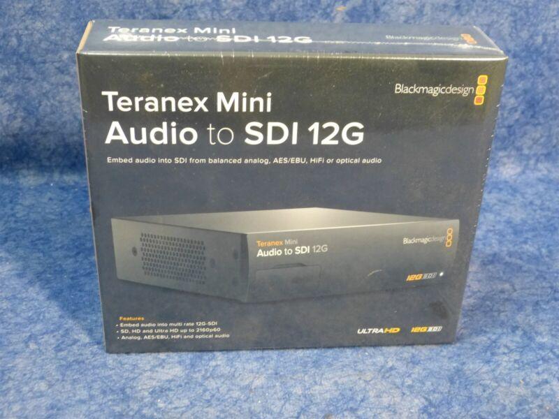 BlackMagic Teranex Mini Audio to SDI 12G Converter CONVNTRM/CB/AUSDI