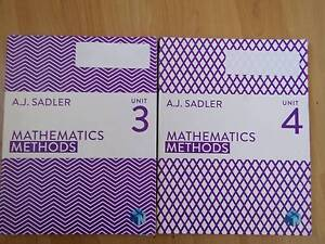 Assorted Year 12 Textbooks - Mathematics & English Stirling Stirling Area Preview