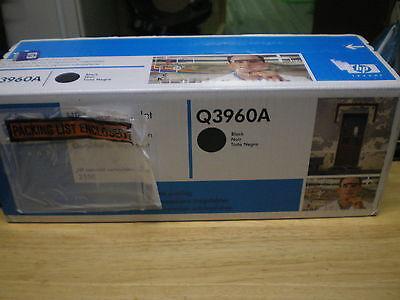 (Q3960A Genuine Hewlett Packard Q3960A Smart Print Black Toner Cartridge)