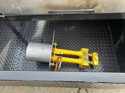 Mobile Pizza Oven Fire Brick Propane Assist Stainless Steel Sink Trailer Truck