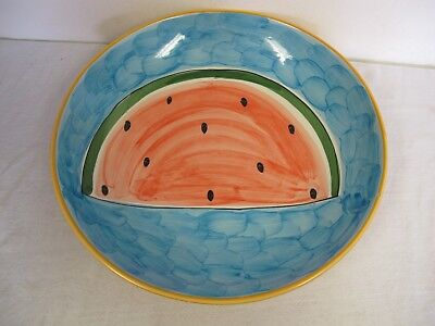 Watermelon Fruit Bowl ( LARGE WATERMELON FRUIT BOWL 14 1/4