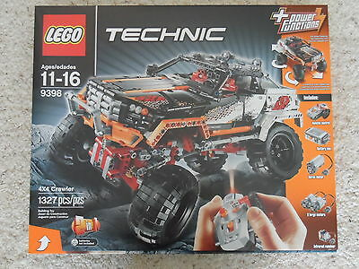 BRAND NEW and FACTORY SEALED LEGO TECHNIC SET 9398 CRAWLER