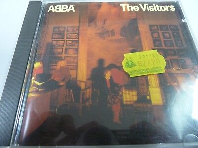 ABBA ‎– The Visitors  1981  1ST  MEGA  RARE  RED FACE POLYDOR  SMOTTH CASE CD !