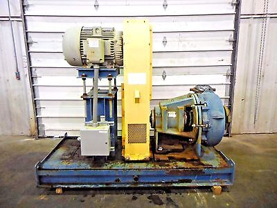 Rx-3605 Metso Mm250 Lhc-d 10 X 8 Slurry Pump W 50hp Motor And Frame