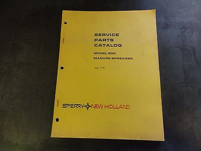 New Holland 800 Manure Spreader Service Parts Catalog Manual 3-79