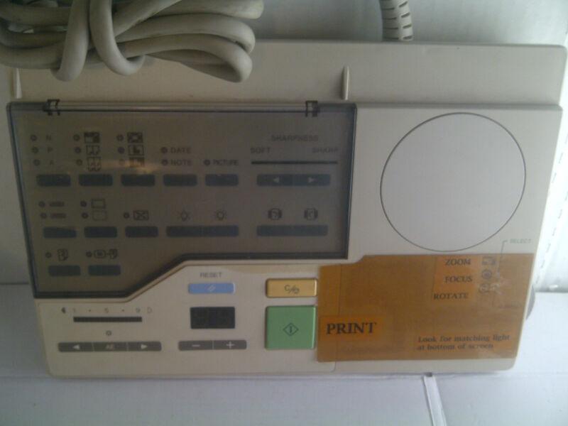 CANON MICROFICHE MICROFILM MACHINE REMOTE CONTROLLER MGI-1538