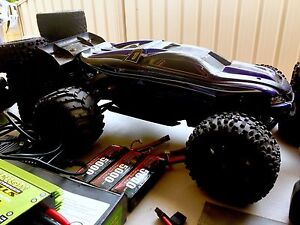 Remote control Traxxas ERevo and Rusler VXL Coogee Cockburn Area Preview
