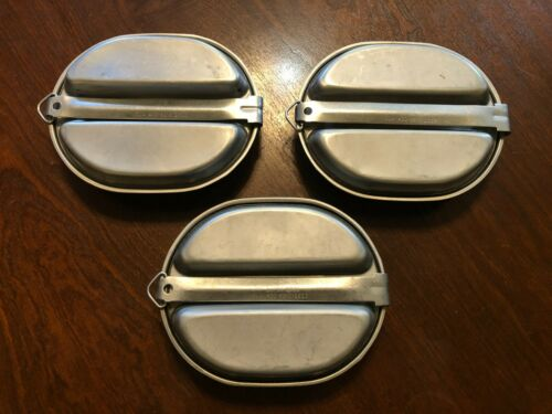 80s US Army USGI M1942 Mess Kit SMP 18789-1982 DLA 400-82-C-1012 CLEAN