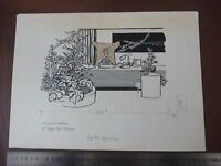 1970s Ceo In Palatial Office Pen & Ink Orig 20th C Illus,bill Hewison, -  - ebay.co.uk