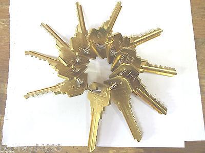 Locksmith Space Depth Keys-dexter-de6-5-pin-10 Keys-0 Through 9 Depth-code Cut