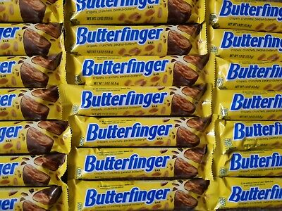 3x Nestle Butterfinger Candy Chocolate Bar. USA imported.