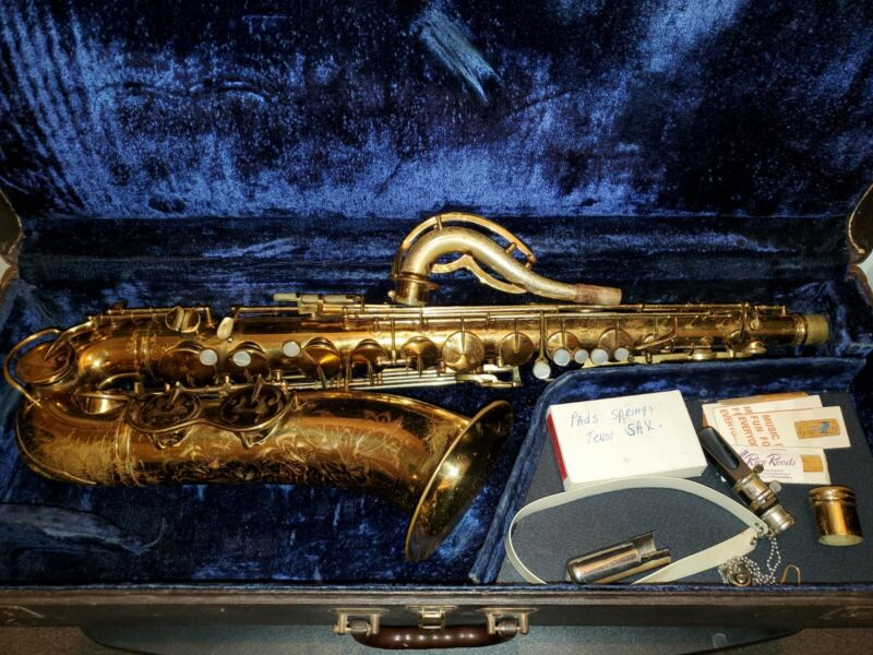 **Collectors** King Zephyr Special Tenor Saxophone **All Pearls**