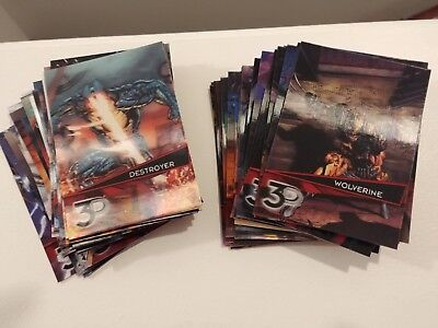 2015 Marvel 3D--Lenticular Parallel Cards (You Pick One)