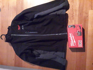 Milwaukee heated jacket with Battery and charger Boronia Knox Area Preview