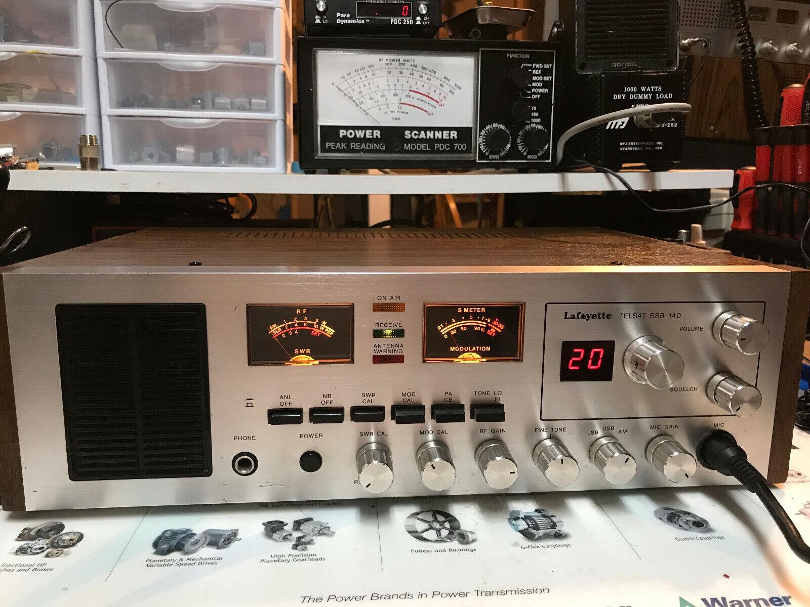 Lafayette TELSAT SSB-140 CB Radio. Buy it now for 250.00