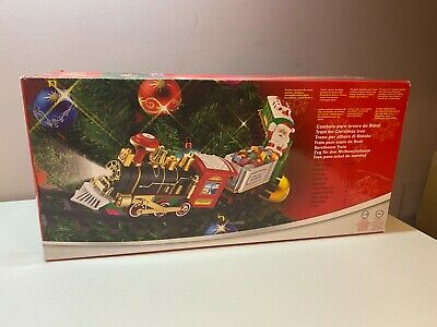 Christmas Express Toy Train Set Light Up Sound Xmas Tree Decorations Home Decor