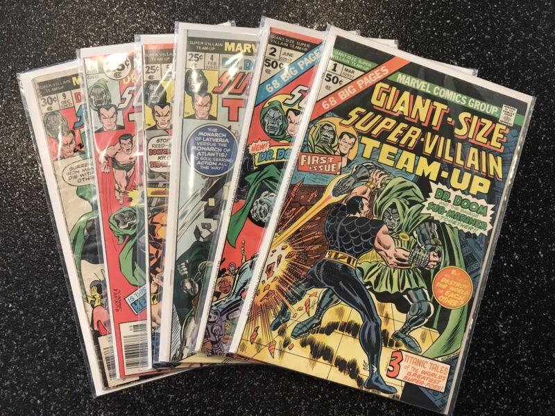 Marvel Super-Villain Team-Up 1-17 Giant Size You Pick Choose - see other u-picks