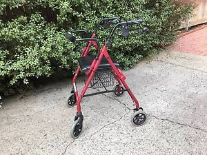 Walking frame with brakes. Calwell Tuggeranong Preview