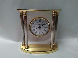 11 Howard Miller #645-217 Table Top Clock~New Orleans Style~Absolutely Beautiful