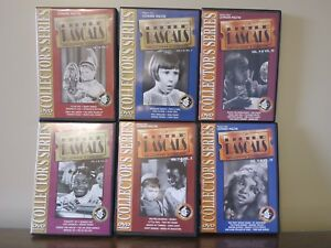 The Little Rascals DVDs. Set of 6. Series 1 - 12 .