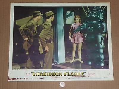 "Forbidden Planet Lobby Card #7 Original 1956 Movie 11""X""14"" Authentic Card 7"