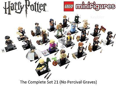 LEGO Harry Potter Series 1 Complete Set 21 Minifigures NO Percival Graves 71022