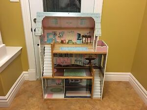 Full size Barbie's Dream House with accessories