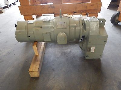 New 5 Hp Sterling Electric Motor 541 Ratio Reducer Stearns Brake 230460v New