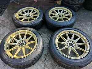 Xxr 527 18inch rims with tyres Hoxton Park Liverpool Area Preview
