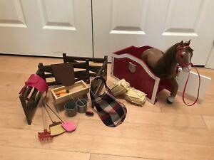 Journey Girl Horse Set